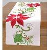 Peking Handicraft Poinsettia Tablecloth