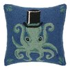 Peking Handicraft Hat Octopus Hook Wool Throw Pillow