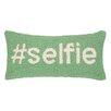 Peking Handicraft Hashtag Selfie Hook Wool Lumbar Pillow
