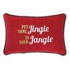 Peking Handicraft Jingle Jangle Lumbar Pillow