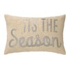 Peking Handicraft Tis The Season Sequins Lumbar Pillow