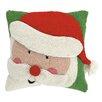 Peking Handicraft Santa 3D Hook Throw Pillow
