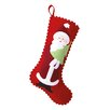 Peking Handicraft Santa and Tree Felt Stocking