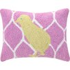 Peking Handicraft Chick Polyester Throw Pillow