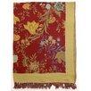 Sabira Classic Floral Cotton Throw