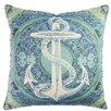 TheWatsonShop Anchor Baroque Cotton Throw Pillow