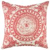TheWatsonShop Suzani Cotton Throw Pillow