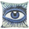 TheWatsonShop Eye Cotton Throw Pillow