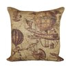 TheWatsonShop Flying Machines Cotton Throw Pillow