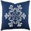 TheWatsonShop Snowflake Cotton Throw Pillow