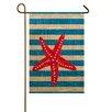 TheWatsonShop Starfish Garden Flag