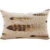 TheWatsonShop Feather Linen Lumbar Pillow