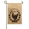 TheWatsonShop Chicken Garden Flag