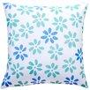 TheWatsonShop Flower Cotton Throw Pillow