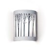 A19 Silhouette Ansel 1 Light Wall Sconce