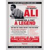 Art Group Muhammad Ali Vintage by Corbis Vintage Advertisement Canvas Wall Art