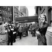 "Art Group Leinwandbild ""Grace Kelly - New York"" von Time Life, Wandbild"