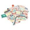 Art Group London Map by Benoit Cesari Canvas Wall Art