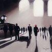 """Art Group Leinwandbild """"Grand Central Station Rendezvous - New York"""" von Jon Barker, Kunstdruck"""