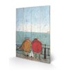 Art Group Doris Earwigging by Sam Toft Art Print Plaque