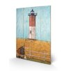 "Art Group Schild ""Feeling the Love at Nauset Light"" von Sam Toft, Kunstdruck"