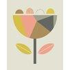 Art Group Leinwanddruck Scandi Flower von Little Design Haus