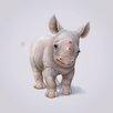 Art Group Rhino by John Butler Canvas Wall Art