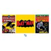 Art Group Batman Triptych Poster Vintage Advertisement