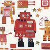 Art Group Red Robots by Anne Davies Canvas Wall Art