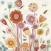Art Group Summer Blooms by Shyama Ruffell Canvas Wall Art