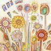 Art Group Sunny Flowers by Shyama Ruffell Art Print on Canvas