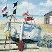 "Art Group Leinwandbild ""Windy Day"" von Jane Hewlett, Wandbild"