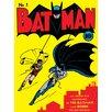 Art Group Batman No.1 Poster Vintage Advertisement Canvas Wall Art