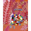 Art Group Elmer and Friends by David McKee Canvas Wall Art