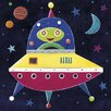 Art Group Spaceship by Simon Hart Canvas Wall Art