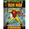 "Art Group Iron Man ""Birth of Power"" Vintage Advertisement on Canvas"