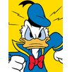 Art Group Leinwandbild Donald Duck Mad, Wandbild