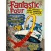 Art Group Fantastic Four, Marvel Comics Vintage Advertisement on Canvas