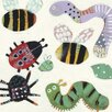 Art Group Creepy Crawlies by Anne Davies Canvas Wall Art