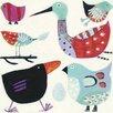 Art Group Leinwanddruck Feathered Friends von Anne Davies