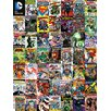Art Group DC Comics Covers Montage Collage Canvas Wall Art