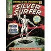 Art Group The Origin - Silver Surfer Poster Vintage Advertisement on Canvas