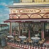 Art Group The Regency Restaurant, Brighton by Melissa Sturgeon Canvas Wall Art