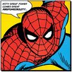 Art Group Spider-Man Quote Poster Canvas Wall Art