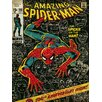Art Group Spider-Man 100th Anniversary Vintage Advertisement on Canvas