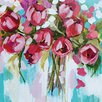 "Art Group Leinwandbild ""Tulip Splendour"" von Amanda J. Brooks, Wandbild"