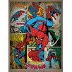 "Art Group Leinwandbild ""Spider-Man"", Retro-Werbung"