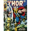 Art Group Thor - Galactus Vintage Advertisement on Canvas