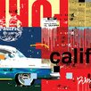 Art Group Cali Car by Mark Andrew Allen Canvas Wall Art