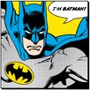 Art Group Batman, Quote Poster Vintage Advertisement Canvas Wall Art